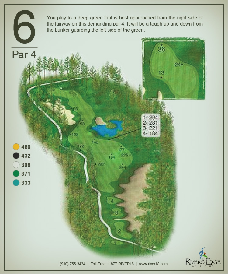 Rivers Edge Hole 6