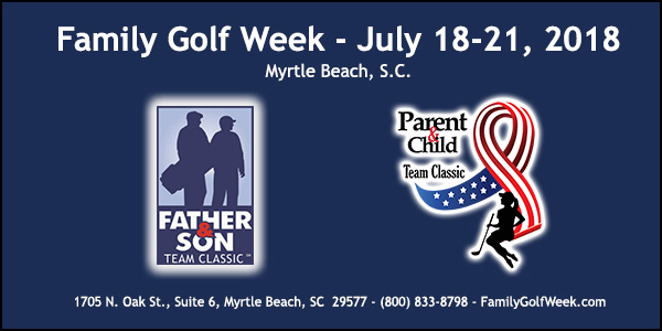 Family Golf Week at Rivers Edge July 18-21, 2018