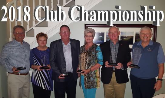 Rivers Edge 2018 Club Championship