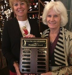 Rivers Edge Ladies Golf Association- President's Award