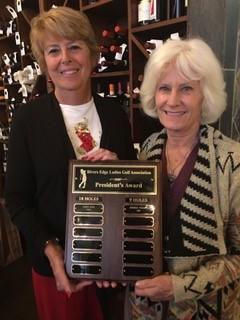 Rivers Edge Ladies Golf Association- President's Award