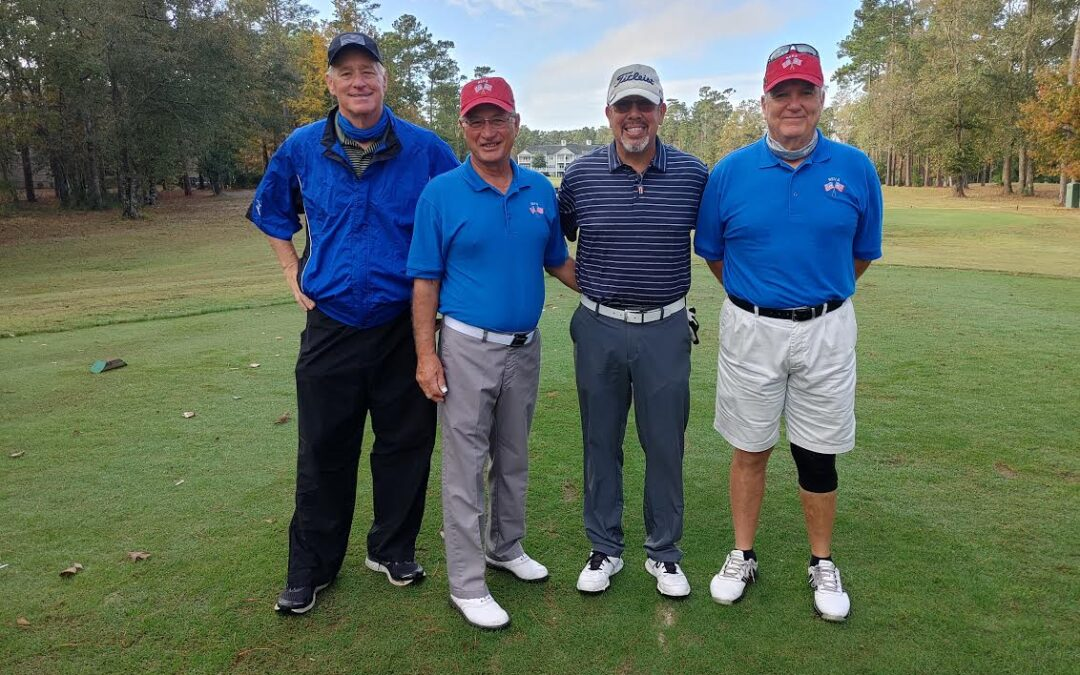 REGC and REVA Host Foursome for Heroes