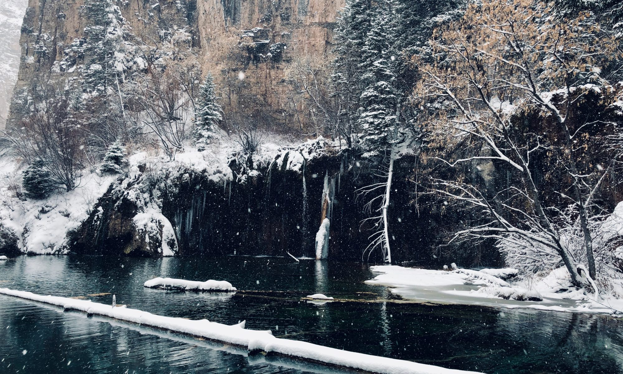 Hanging Lake Winter
