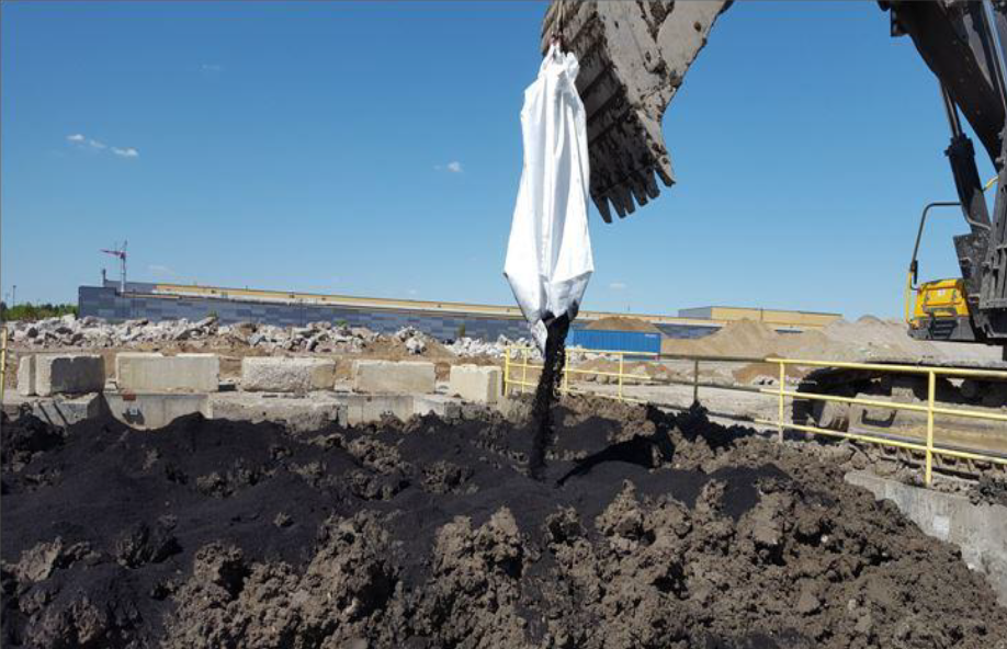 Ex-Situ Soil Mixing–Chlorinated Solvents