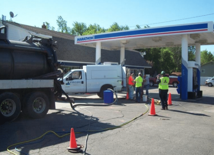 Active Gas Station – DPT Inject and Extract BTEX Free Product