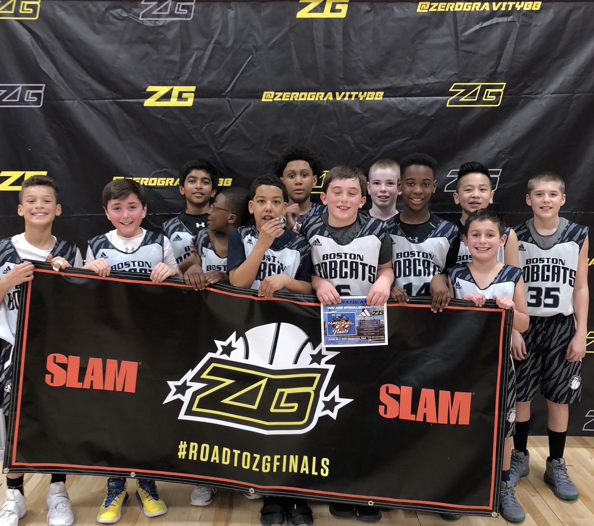 Boston Bobcats: 5th Grade Wins Zero Gravity Tournament To Start The Season