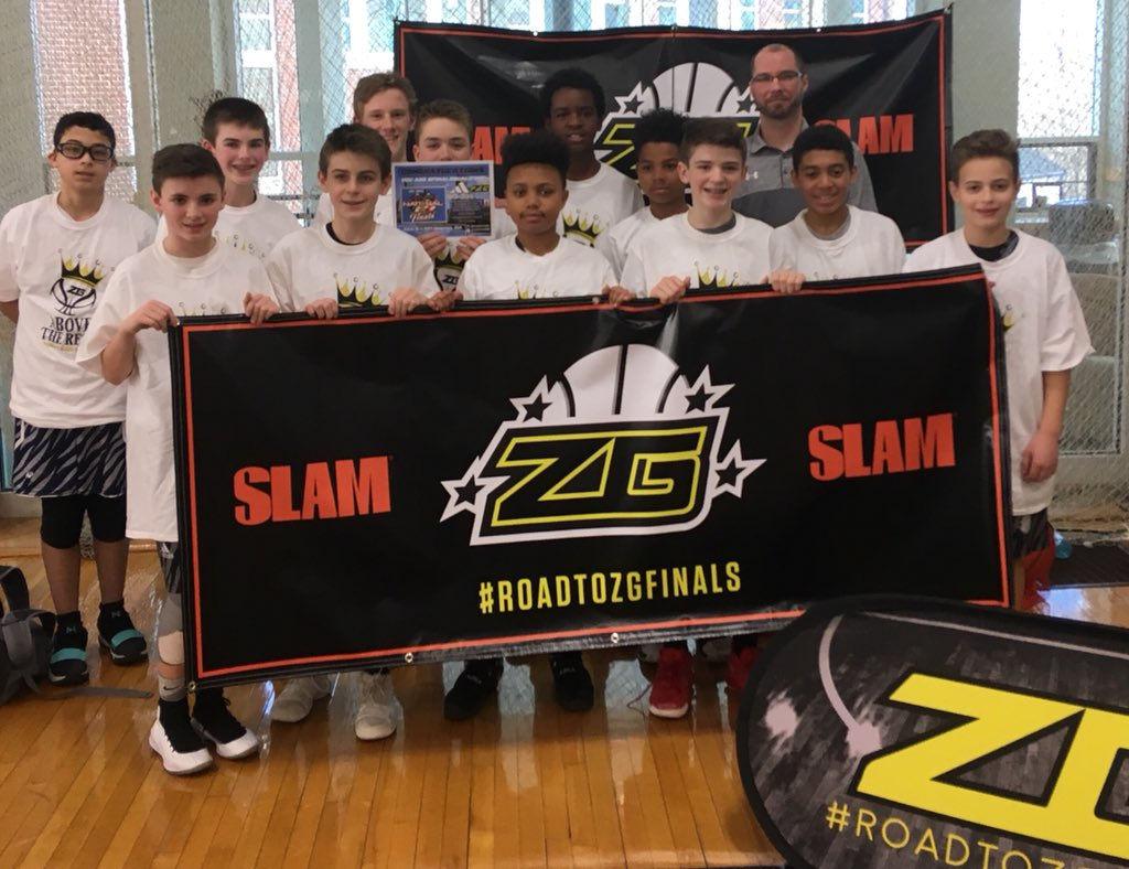 Boston Bobcats: 7th Grade Wins International Champions at Coach vs Cancer
