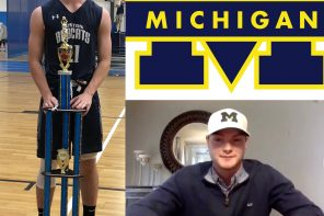Louis Hansen commits to the University of Michigan