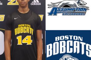 Njavan Stewart commits to Assumption College