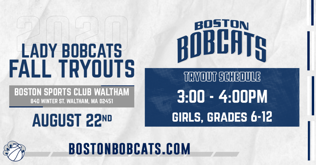 Just Announced: Lady Bobcats Fall Tryouts 2020