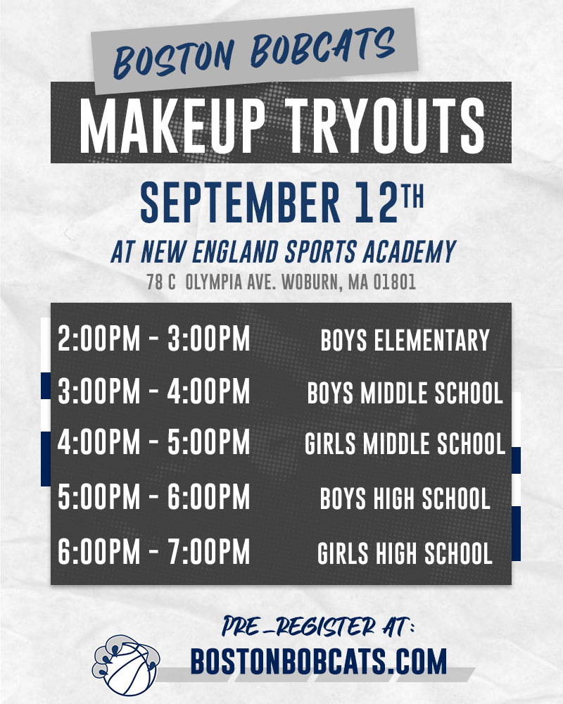 Boston Bobcats Makeup Tryouts