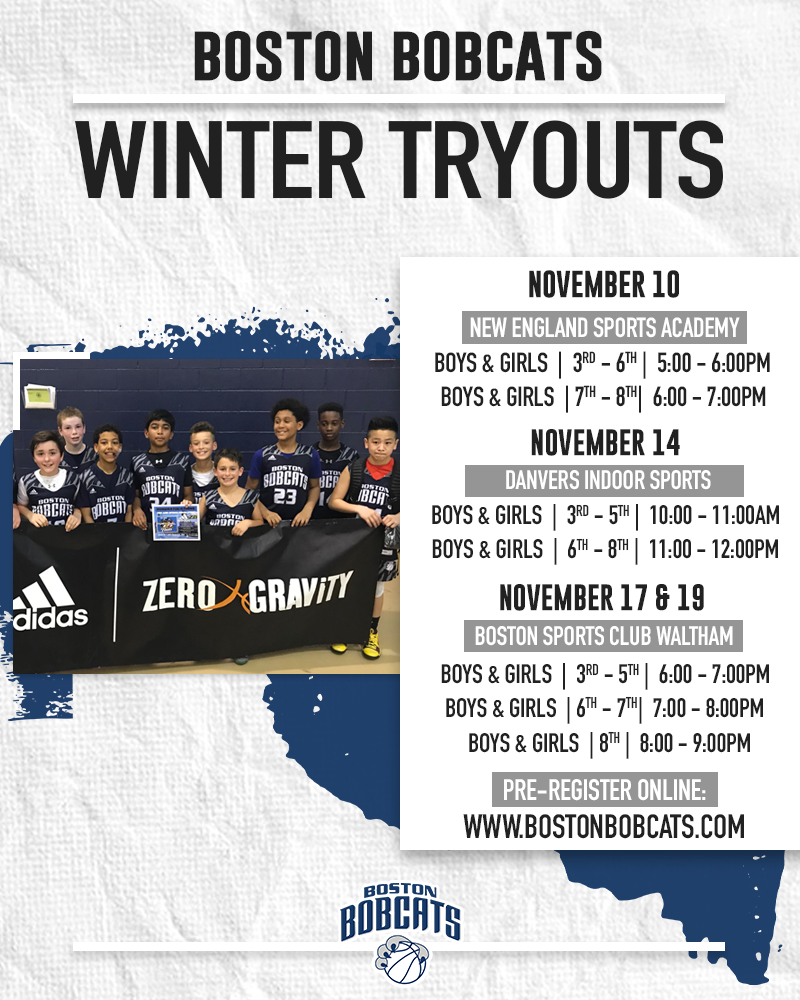 2020-21 Winter Tryouts