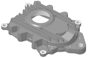 Prototype Machining Housing Cover solid works