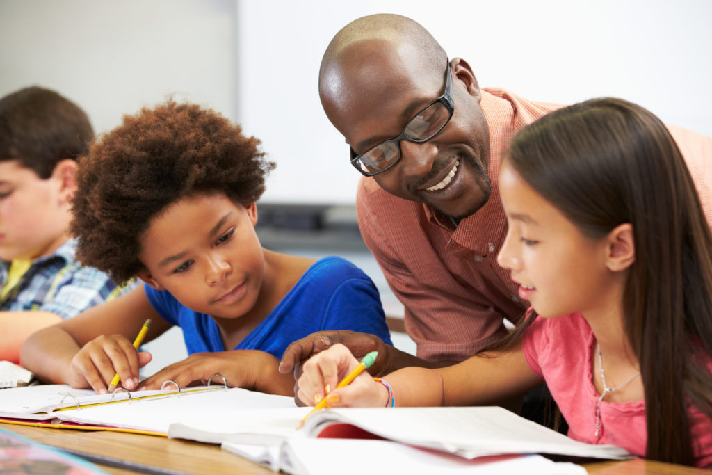 Teacher and Students shutterstock_139406252
