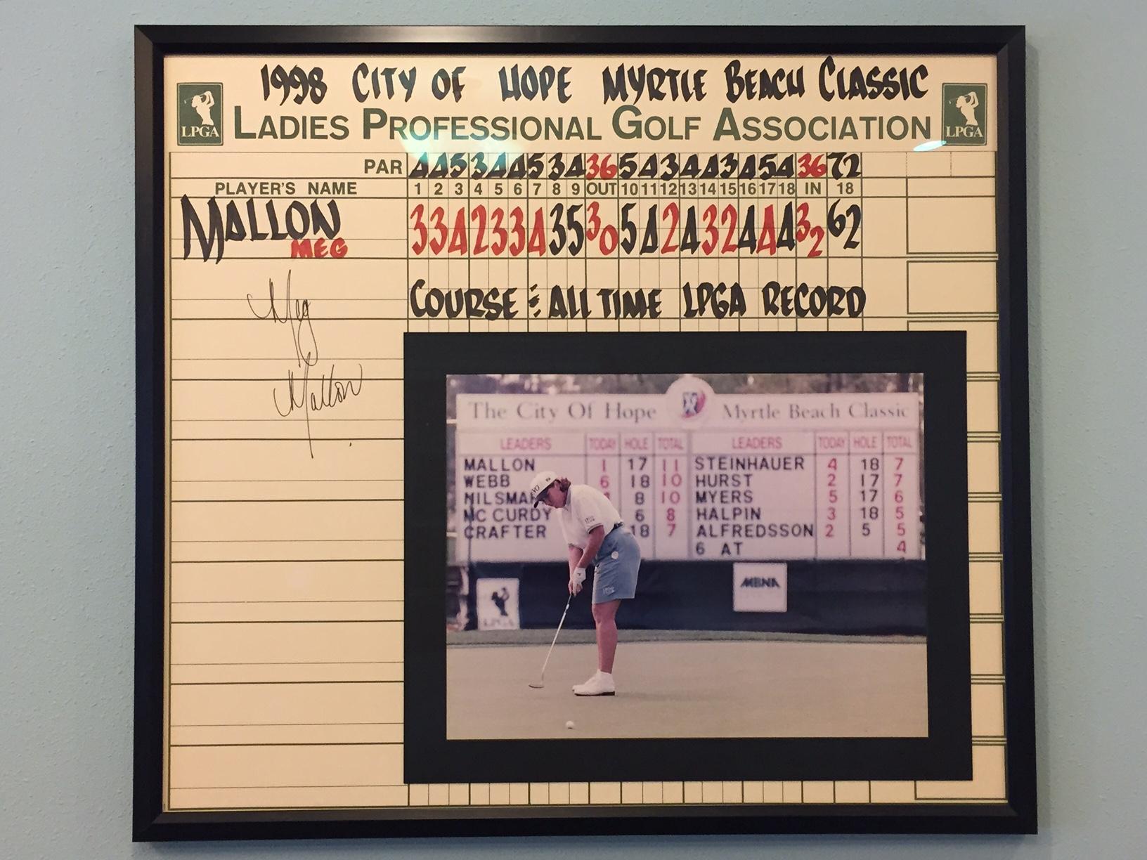Meg Mallon Scorecard 2