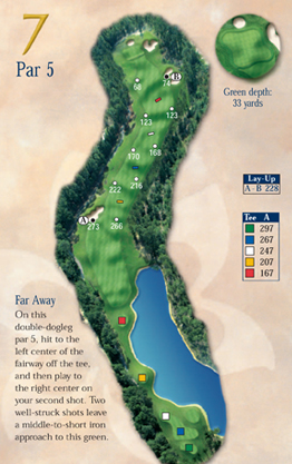 The 7th Hole is a Challenging Par 5