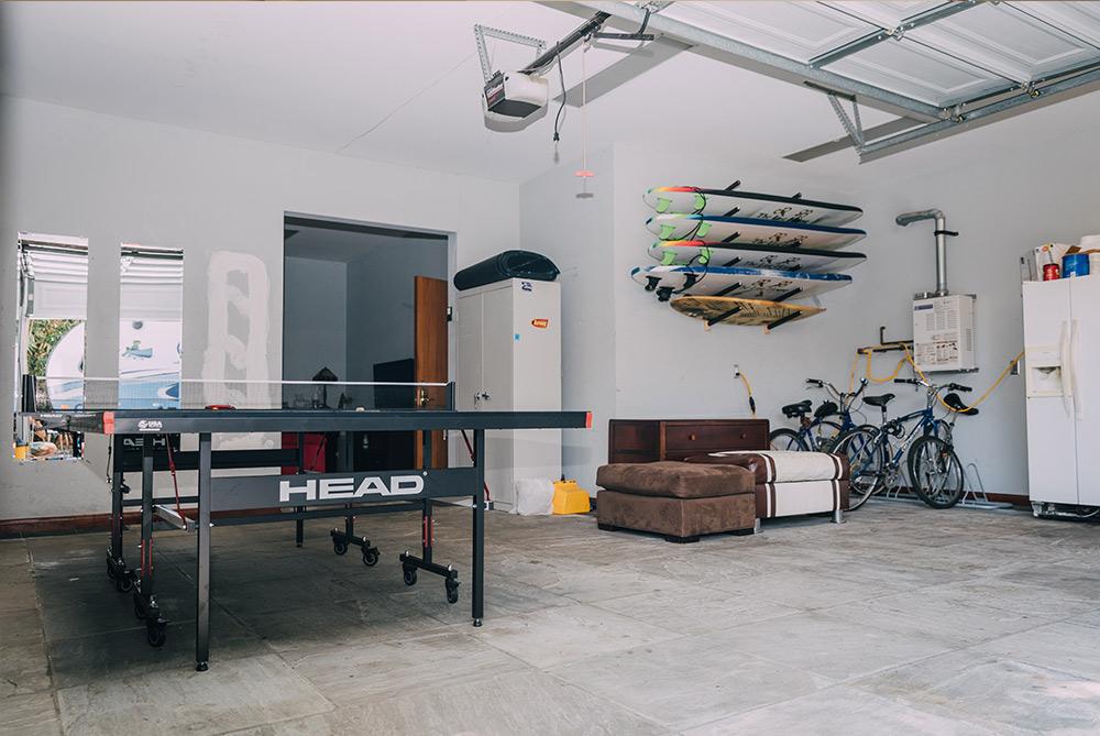 west garage