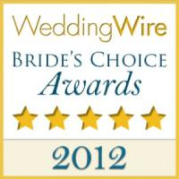 Wedding Wire Bride's Choice Awards 2012