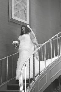 plus size mermaid lace wedding dress