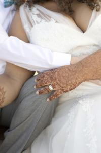 plus size v neck lace wedding dress
