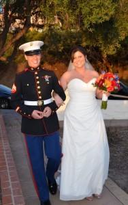 chiffon wedding dress with corset back