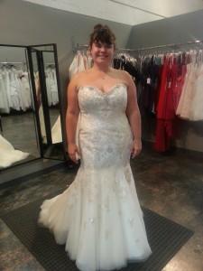 plus size gold sequin wedding dress
