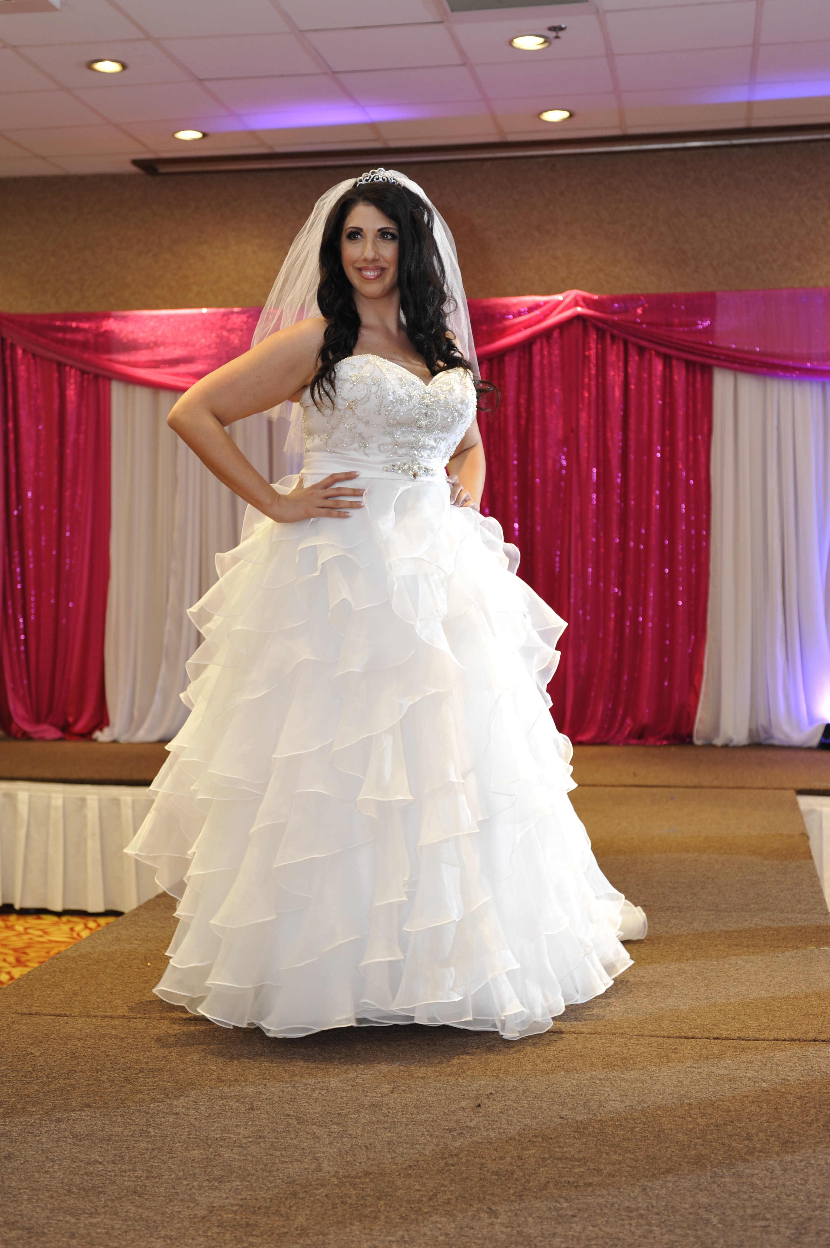Torrance Bridal Show–Plus Size Wedding Gowns on the Runway!