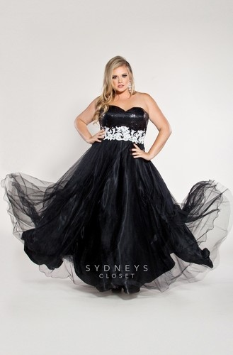 Plus Size Ballgown Prom Dresses for 2015
