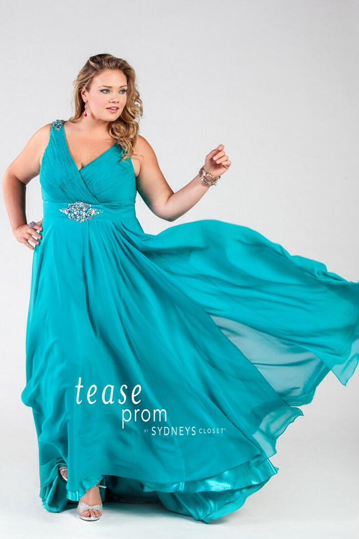 "Best ""Under the Sea"" Theme Plus Size Prom Dresses!"