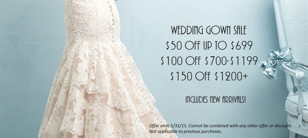 wedding dress sale