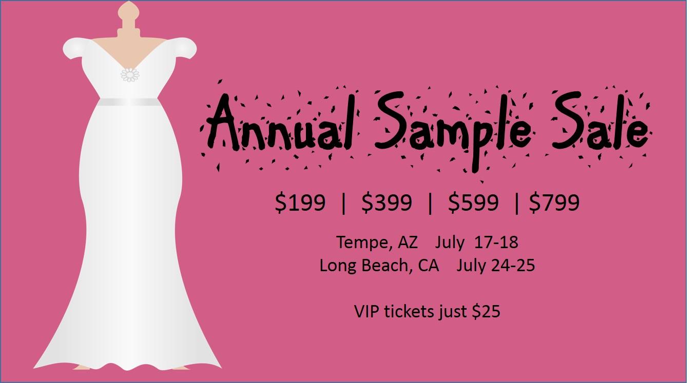 Plus Size Wedding Dress Sample Sale