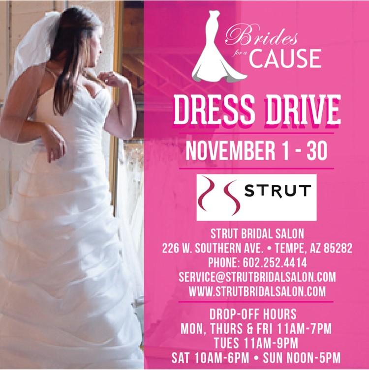 Wedding Dress Donation Drive – Phoenix, AZ