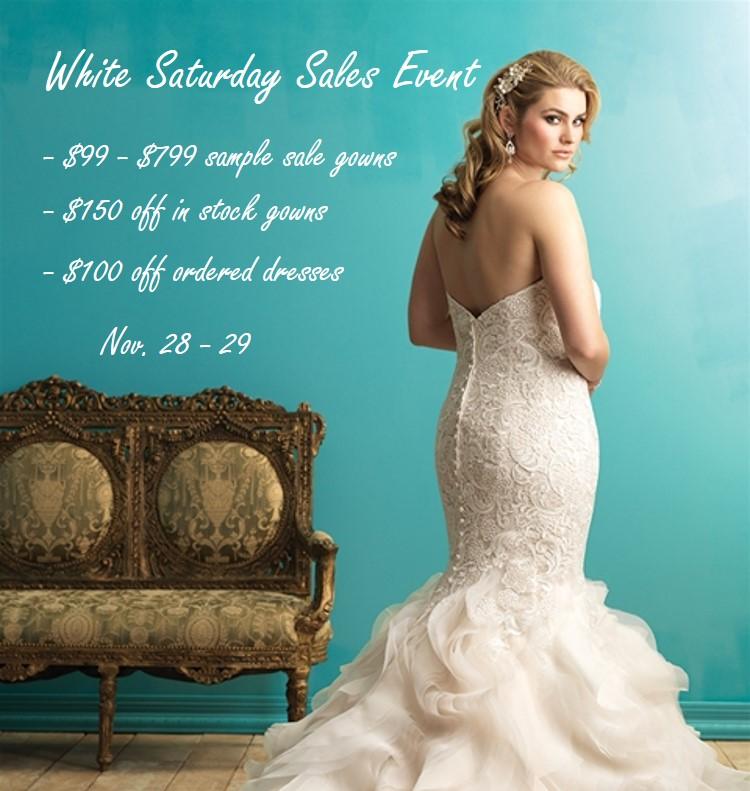 Plus Size Wedding Dress Sample Sale – $99+