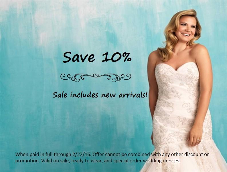 Plus Size Wedding Dress Sale – Save 10% Now!