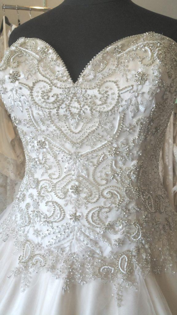 dropped waist sparkle ballgown 2
