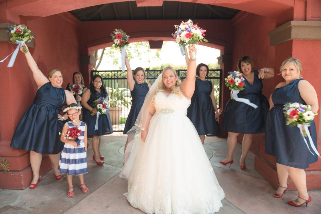 katrina plus size wedding gown with straps