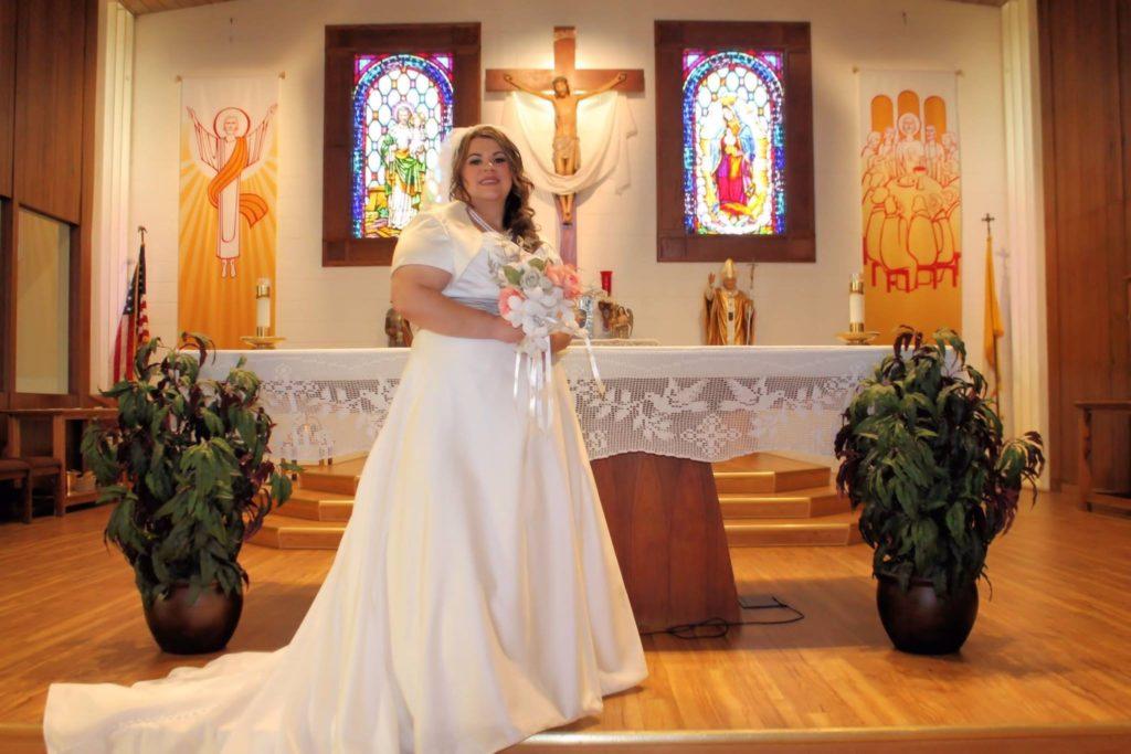 rosa plus size bridal gown