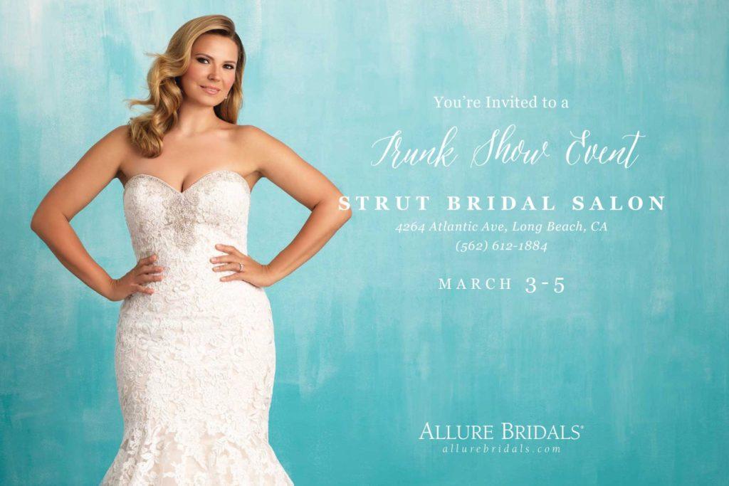Exclusive Allure Bridals Plus Size Wedding Dress Trunk Show