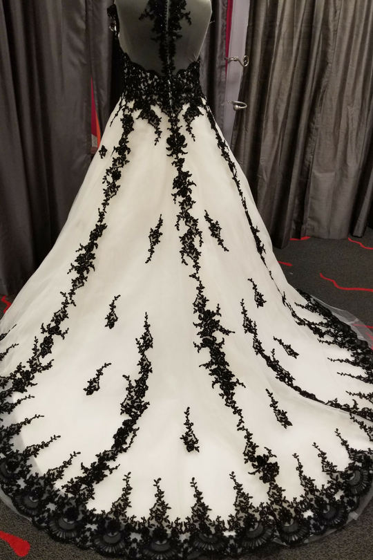 Our Newest Black Lace Ballgown is Everything