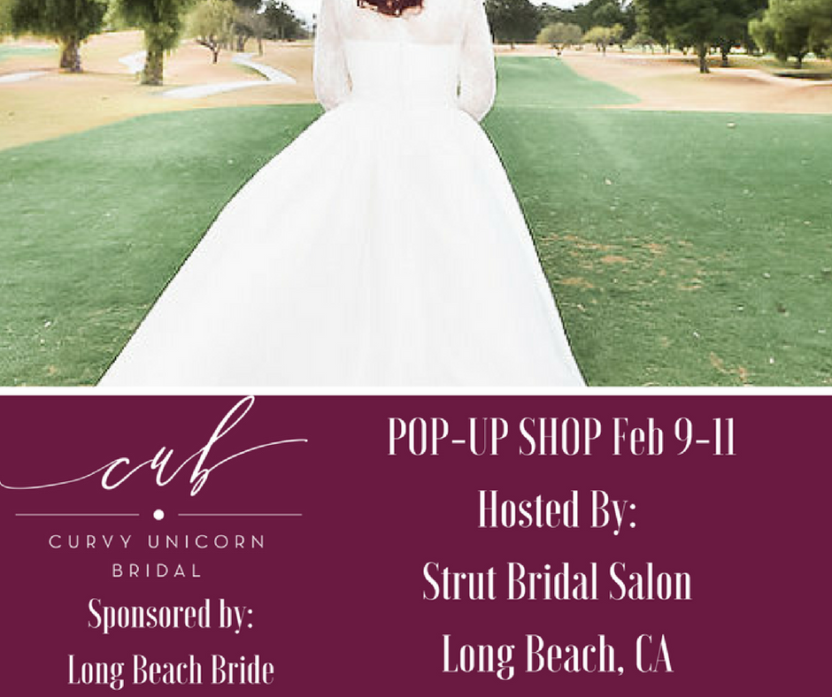 Curvy Unicorn's National Debut and Pop-up Shop in Long Beach