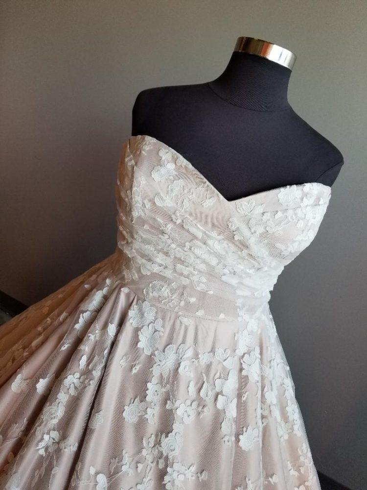 New Arrival: A Plus Size Blush Ballgown Fit for a Princess