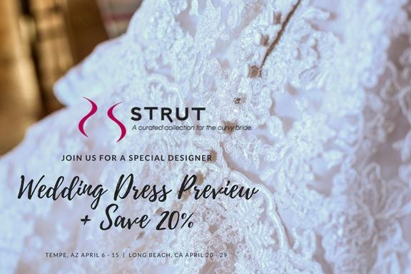 Save 20% – Designer Wedding Dress Preview!