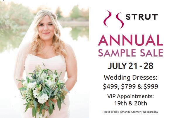 Plus Size Wedding Dress Sample Sale Starts Saturday
