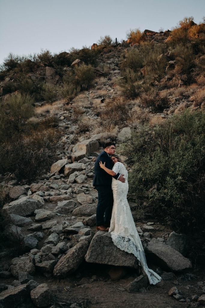 plus size vintage long sleeve lace wedding dress outdoor wedding