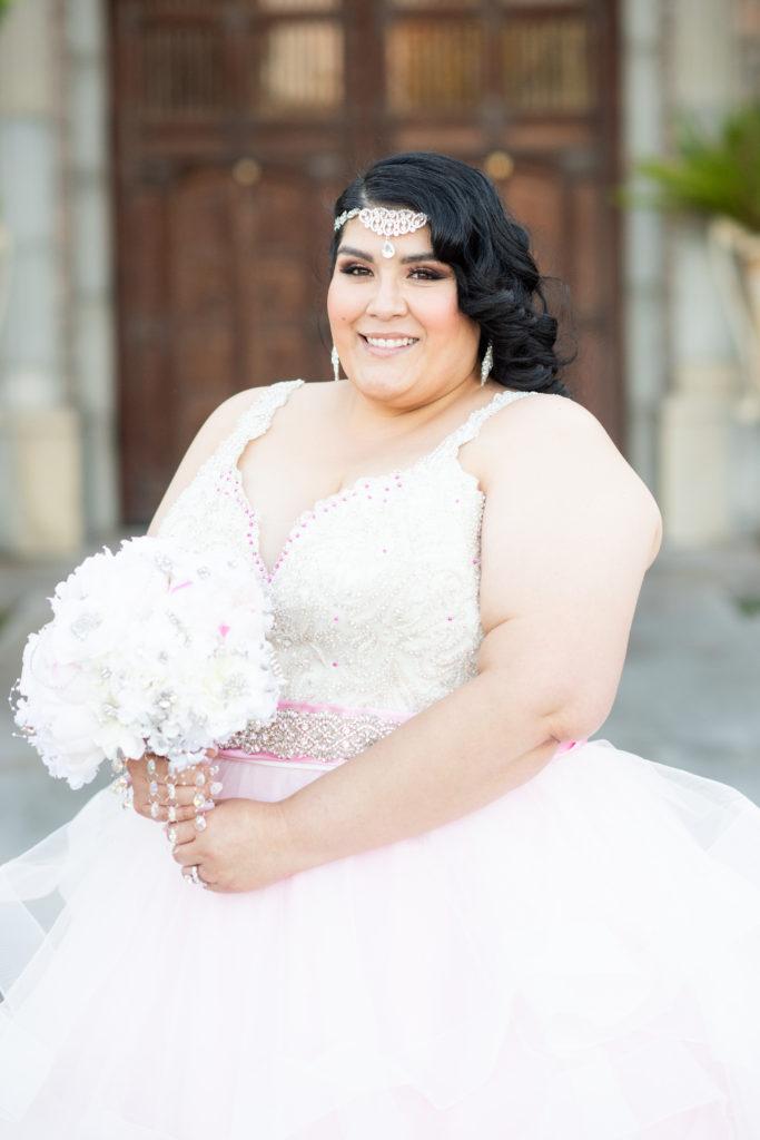 custom plus size pink wedding dress Tempe, AZ