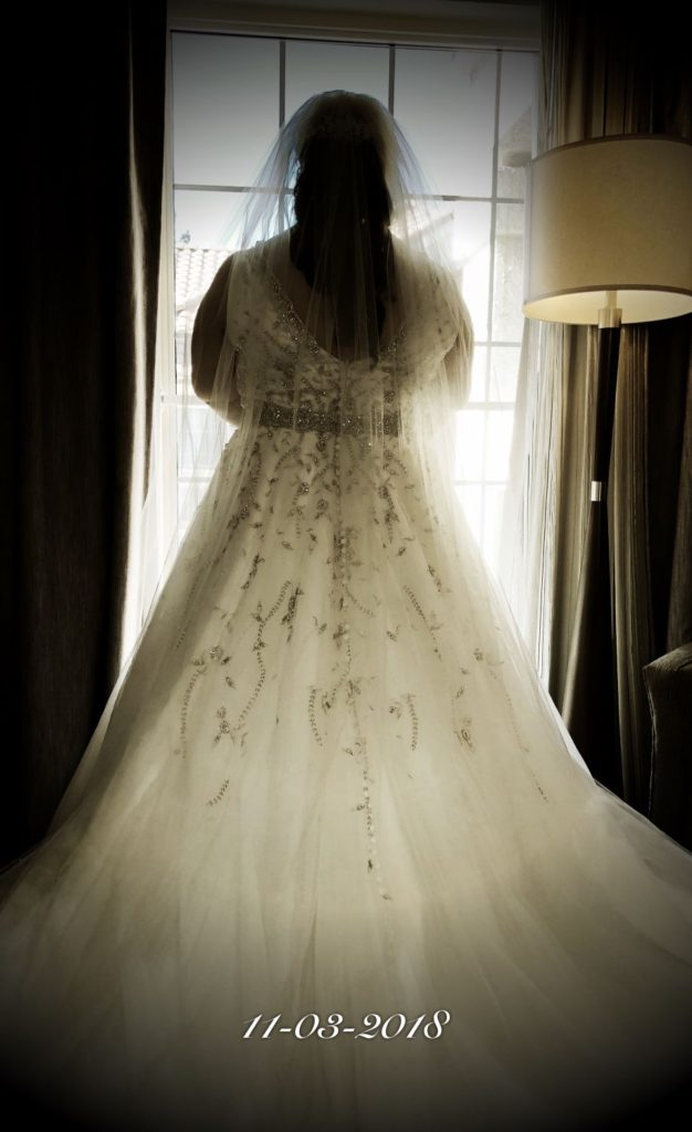 real plus size bide tulle ballgown wedding dress with bling