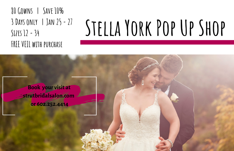 Stella York Plus Size Wedding Dress Pop-Up Shop