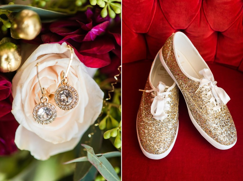 sequin wedding shoes