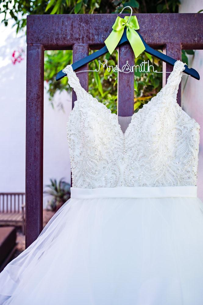 Plus size designer wedding dress with straps Arizona