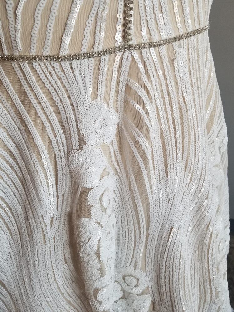 sparkle plus size wedding dress